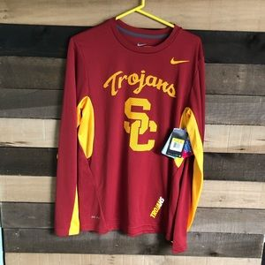 NWT Nike USC Trojans Longsleeve Men's Small $50